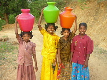 350px-Girls_carrying_water_in_India
