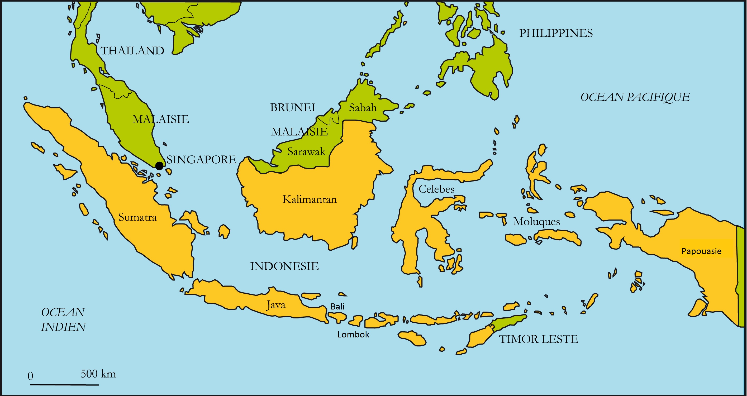 carte-Indonesie