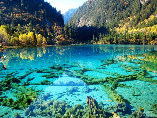 KenhSinhVien.Net-110921kpdulichcrystalline-turquoise-lake-jiuzhaigou-national-park-china